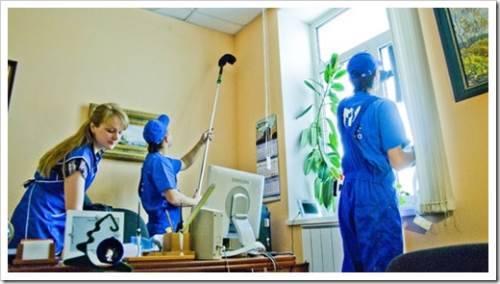 Услуги по уборке от клининговых компаний