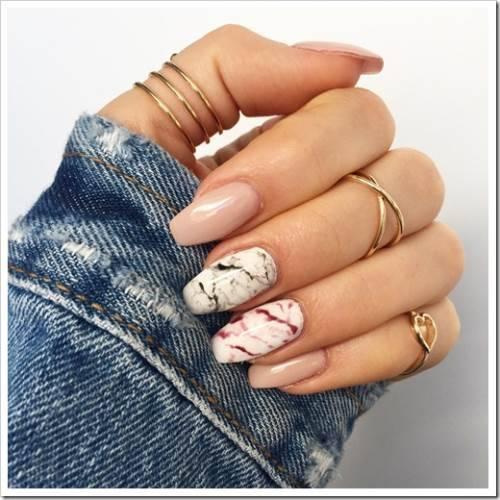 Подготовка основы под роспись ногтя