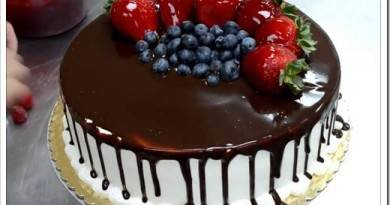 Как приготовить торт на день рождения?