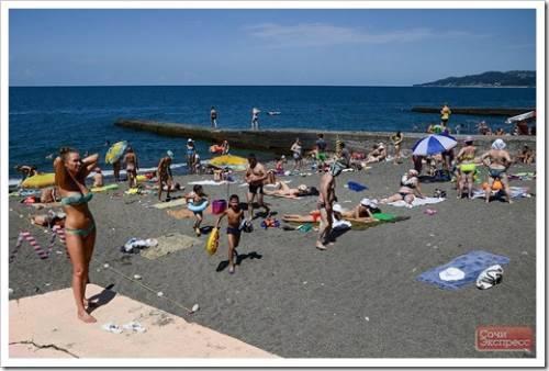 Комфорт пляжа заключается не только в оснащении берега