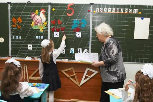 Что проходят в первом классе по математике