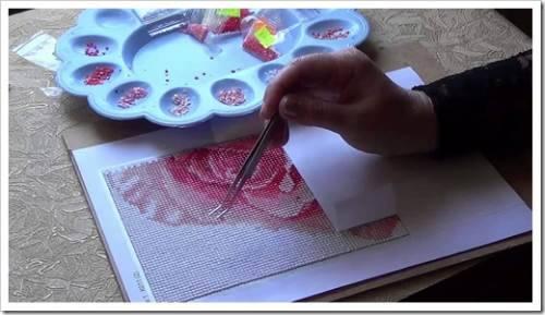 Принципы вышивки алмазами: создаём шедевр