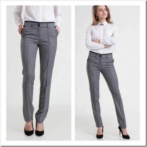 Каких правил стоит придерживаться при составлении образов с брюками?