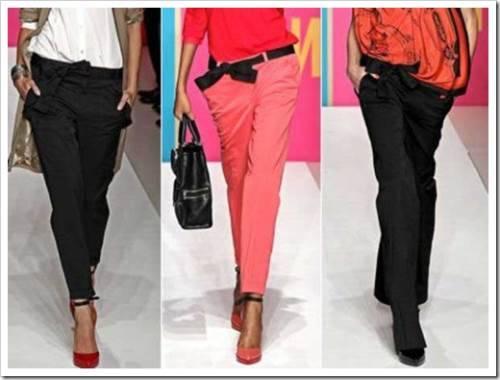 Почему не рекомендуется злоупотреблять образами с брюками?