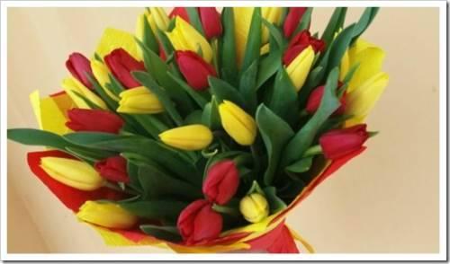 Доставка цветов для коллег по работе