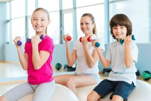 Что такое фитнес для детей и его виды