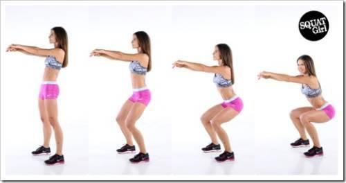 Упражнения для накачанной попы