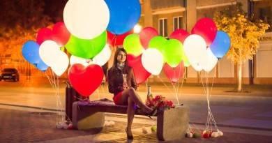 Как сделать светящиеся воздушный шар
