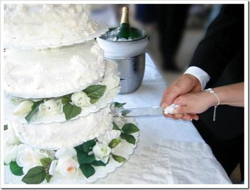 Рекомендации к разрезанию свадебного торта