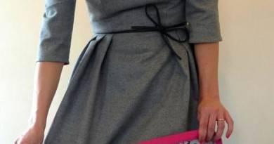 Как удлинить трикотажное платье