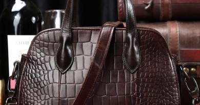 Виды кожаных сумок