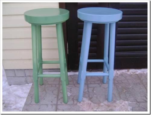 Конструктивные особенности барных стульев
