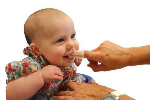 Как ухаживать за полостью рта ребенка