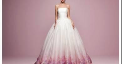 Какого цвета может быть свадебное платье?