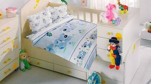 Как сшить детское постельное белье в кроватку