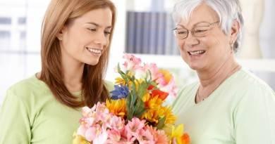 Какие цветы подарить бабушке на день рождения