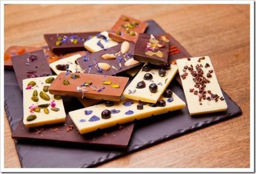 Процесс приготовления шоколада