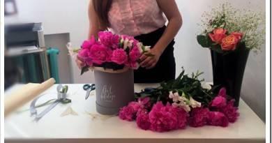 Как сделать цветы в коробке?