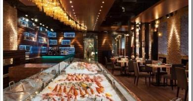 Где подают вкусную рыбу и морепродукты в Москве?