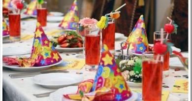 Как устроить детский праздник день рождения