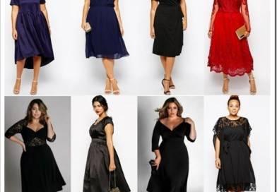 Какой фасон платья выбрать, чтобы скрыть живот