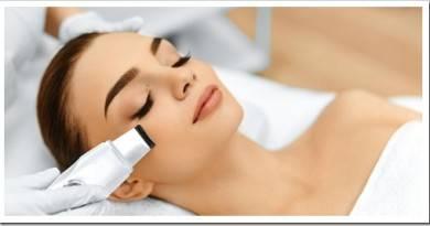 Очистка лица с помощью ультразвука