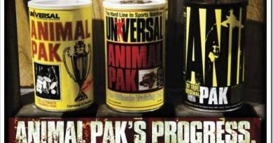 Витамины Animal Pak — как принимать спортсменам