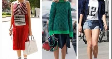 С чем носить длинные женские носки