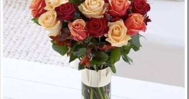 Как сохранить букет роз в вазе