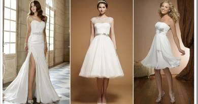 Какие свадебные платья подходят маленьким девушкам
