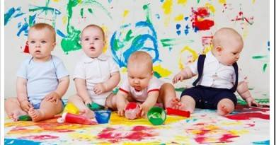 С какого возраста и какие нужны развивающие занятия ребенку