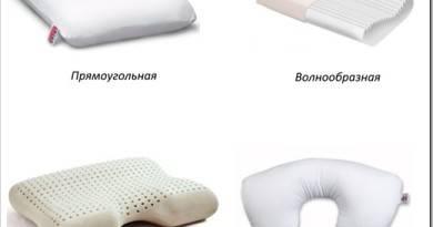 Чем отличается анатомическая подушка от ортопедической