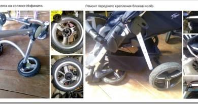 Как поменять колеса на детской коляске