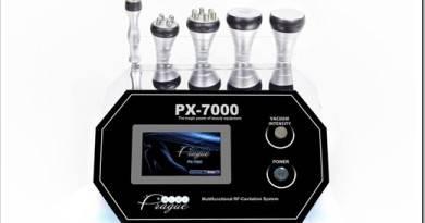 Описание и характеристики аппарата кавитации и RF лифтинга PX-7000
