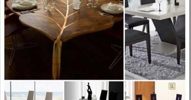 Какие бывают виды столов в интерьере