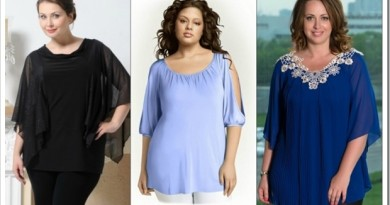 Как выбрать блузу для полных женщин?