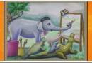 Мораль басни Слон живописец Сергея Михалкова