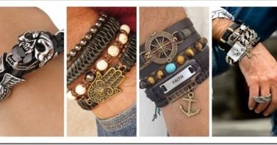 Виды мужских браслетов на руку и как правильно их носить