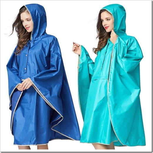 Классификация женских дождевиков