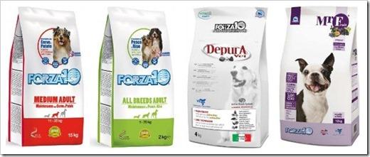 Виды и особенности собачьих кормов бренда Forza10