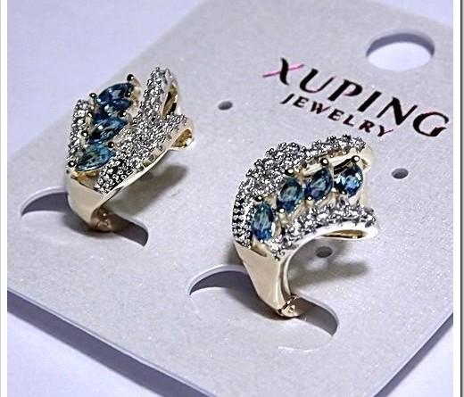 Широкий ассортимент серёг от Xuping
