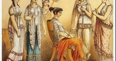 Женская мода античной Эллады