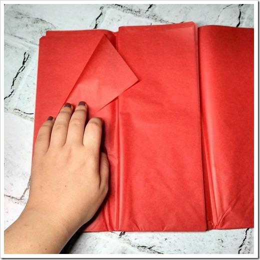 Сфера использования бумаги тишью