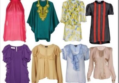 Виды женских блузок и их особенности