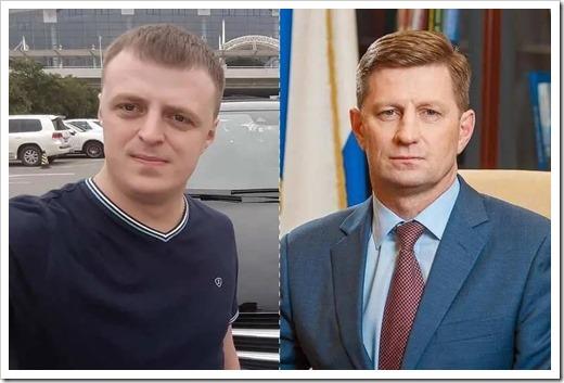 Старший сын Антон Фургал