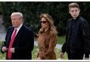 Сколько лет младшему сыну Трампа Бэррону?