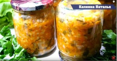 35 рецептов заготовок на зиму от Натальи Калининой: баклажаны, кабачковая икра, огурцы, помидоры, капуста, салаты, заправки для супов и многое другое