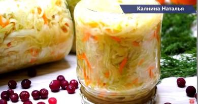 28 рецептов блюд с капустой от Натальи Калининой: гречка с капустой, квашенная и маринованная капуста, пироги, голубцы и многое другое