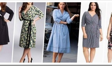 Какие платья выбирать полным девушкам
