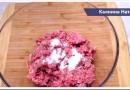 Рецепты блюд из фарша от Натальи Калининой: вторые блюда, колбаски, котлеты, бризоль, стожки и многое другое